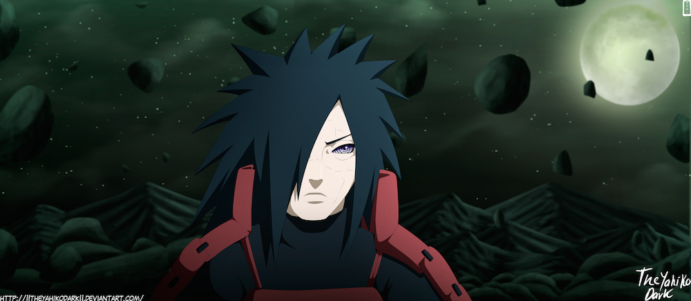 Shinobi Legenda Madara Uchiha